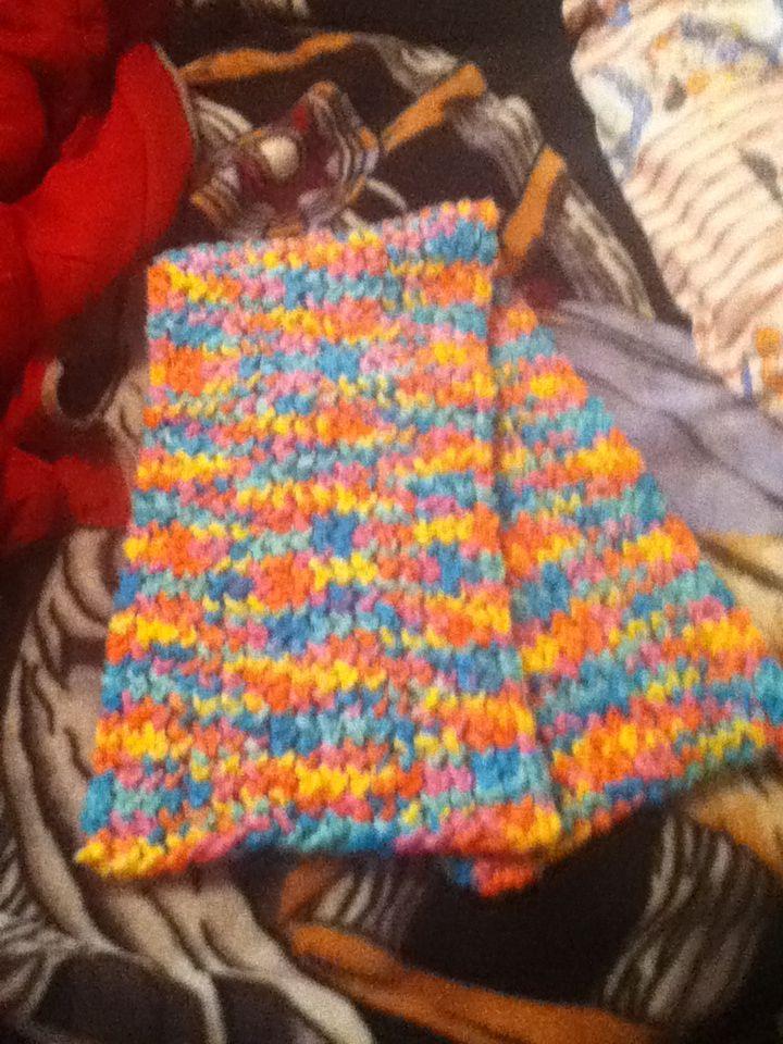 mom's scarf.