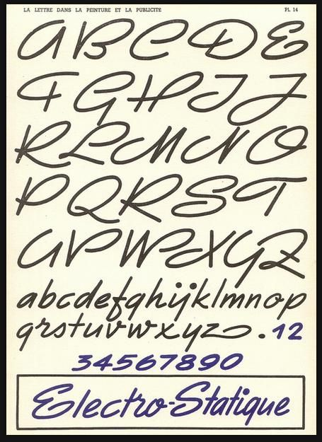 Musely Cool Fonts To Write In On Paper Rhombic Typefaces