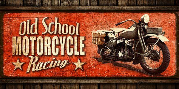 JF_0071_GR2 Cuadro Old School Motorcycle Racing