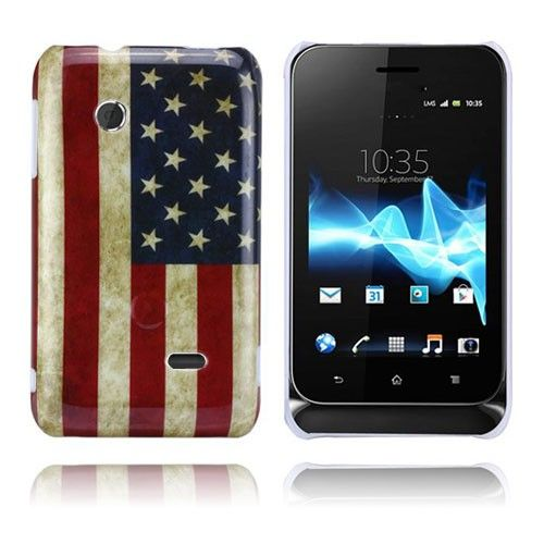 Flag (Stars & Stripes) Sony Xperia Tipo-Hölje