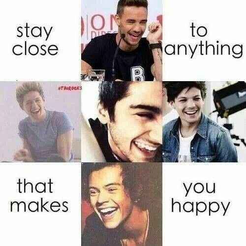I'm staying, I'm staying it's the promise of a true directioner