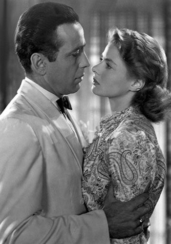 Casablanca.   We'll always have Paris...: dorky, I know, but I saw Casablanca the first time when I was thirteen, and have loved it ever since.