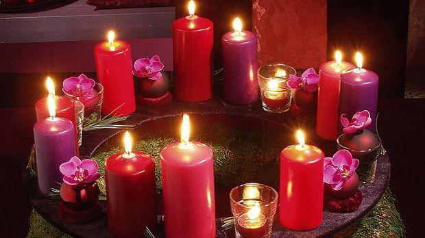 Kerzen zaubern zu Hause eine gemütliche, romantische Atmosphäre. Das Angebot im Fachhandel ist groß. Sie können aber auch Kerzen selber machen. Eine Anleitung und Tipps gibt Dekorateurin Bine Brändle.