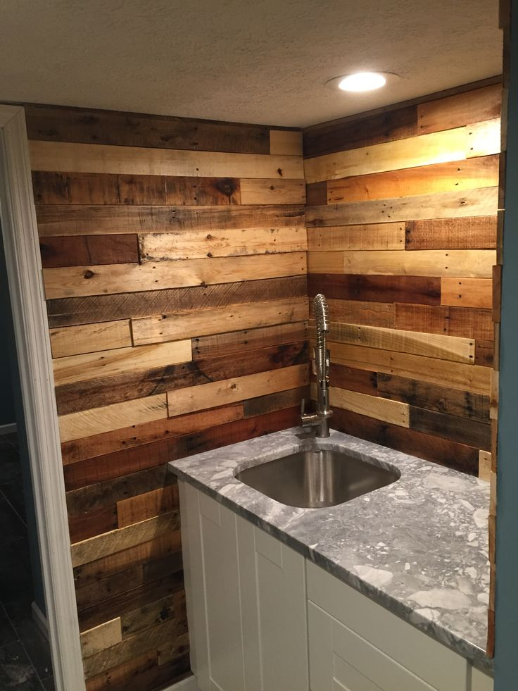 30 best reclaimed walls barn wood pallet wood images for Pallet shower wall
