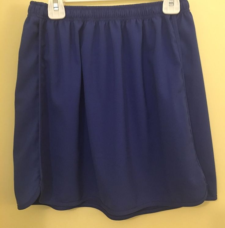 Anthropologie Size 4 6 Small Skirt The Cue Cher Qu Elastic Waist Blue Womens #Anthropologie #Mini #Casual