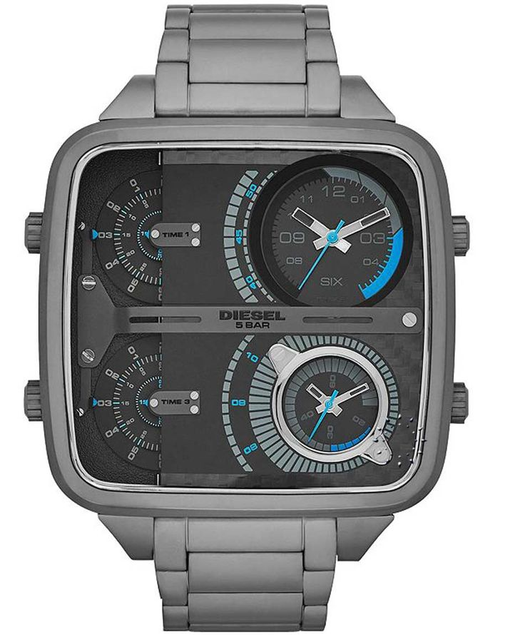 DIESEL Mr. Daddy Square Stainless Steel Bracelet Η τιμή μας: 360€ http://www.oroloi.gr/product_info.php?products_id=35340