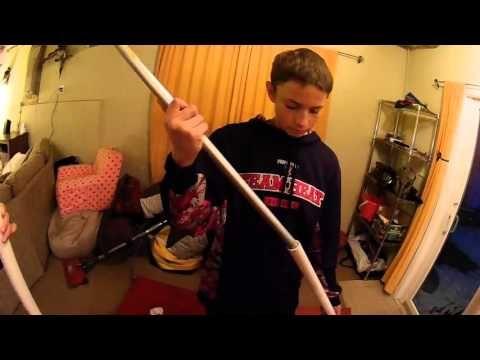 How to make a cheap beginners gymnastics bar - YouTube
