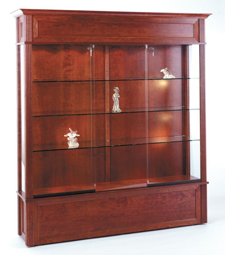 Beautiful Large Wall Display Cabinet