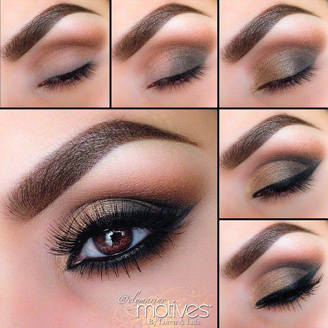 Fall eyes by #elymarino using #Motives My Beauty Weapon palette