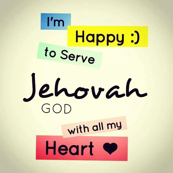 I am proud to be one of Jehovah's Witnesses :D