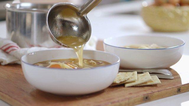 Soupe chunky au poulet | Cuisine futée, parents pressés
