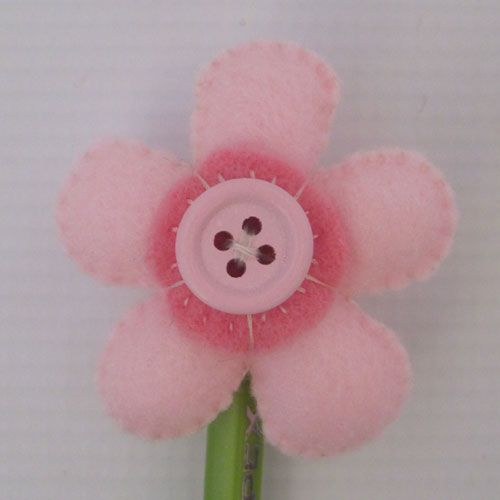 Flower Pencil Topper