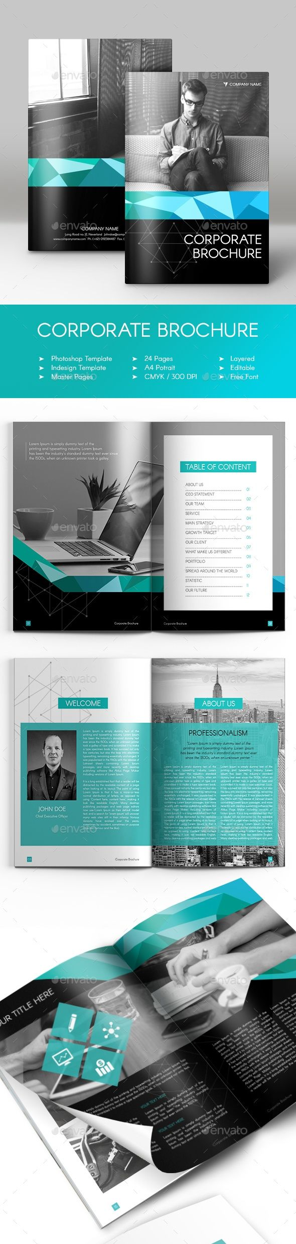 Corporate Brochure Company Profile 6