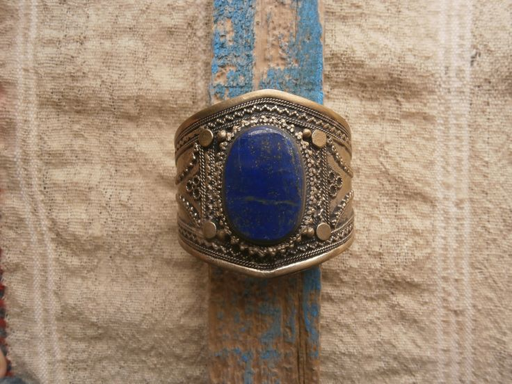 lapis and silver ,from Swat Valley ,Paquistan