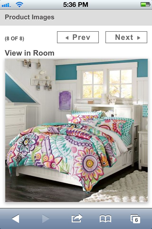 Pottery Barn Teen Bedding With Her Fav Colors Sam