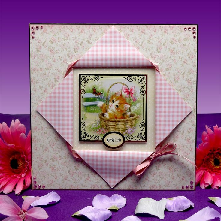 Little Paws by Hunkydory Crafts. Card made using 'Little Paws Luxury Card Collection'