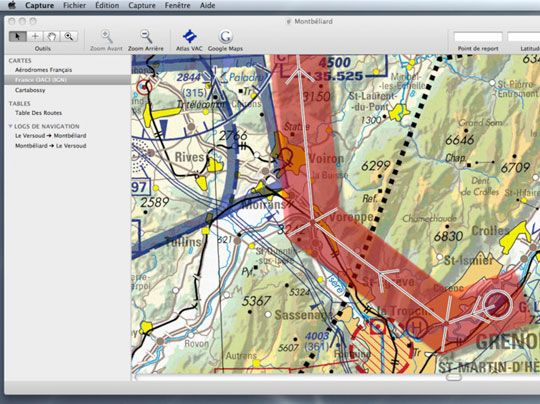Mermoz by Eric Le Ponner for Mac OSX: a tool to help private pilots to do their flight planning l #freeapp