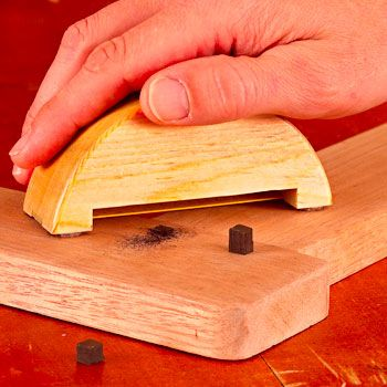 Sierra para metales Dowel Trimmer Plan de Trabajo de la madera de MADERA Revista