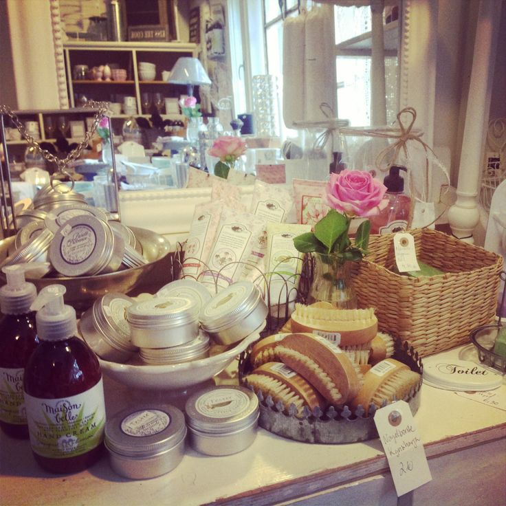 Lovely products from Maison Belle...