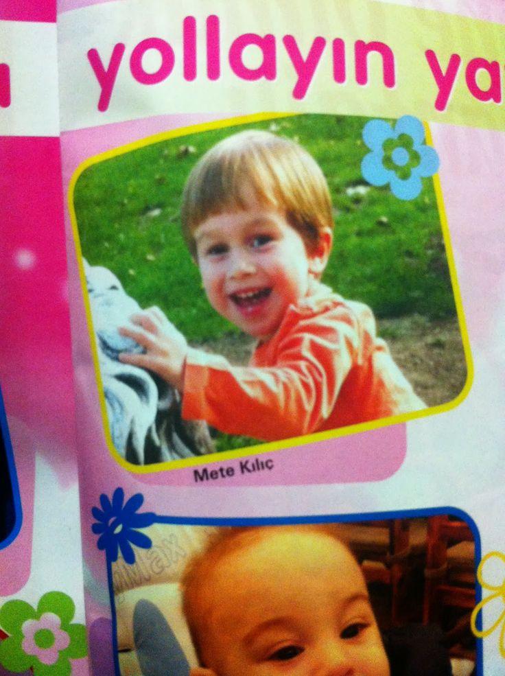 Oğlum Mete ile yeni bir hayat başladı...: Anne Bebek Dergisi Şubat Sayısı