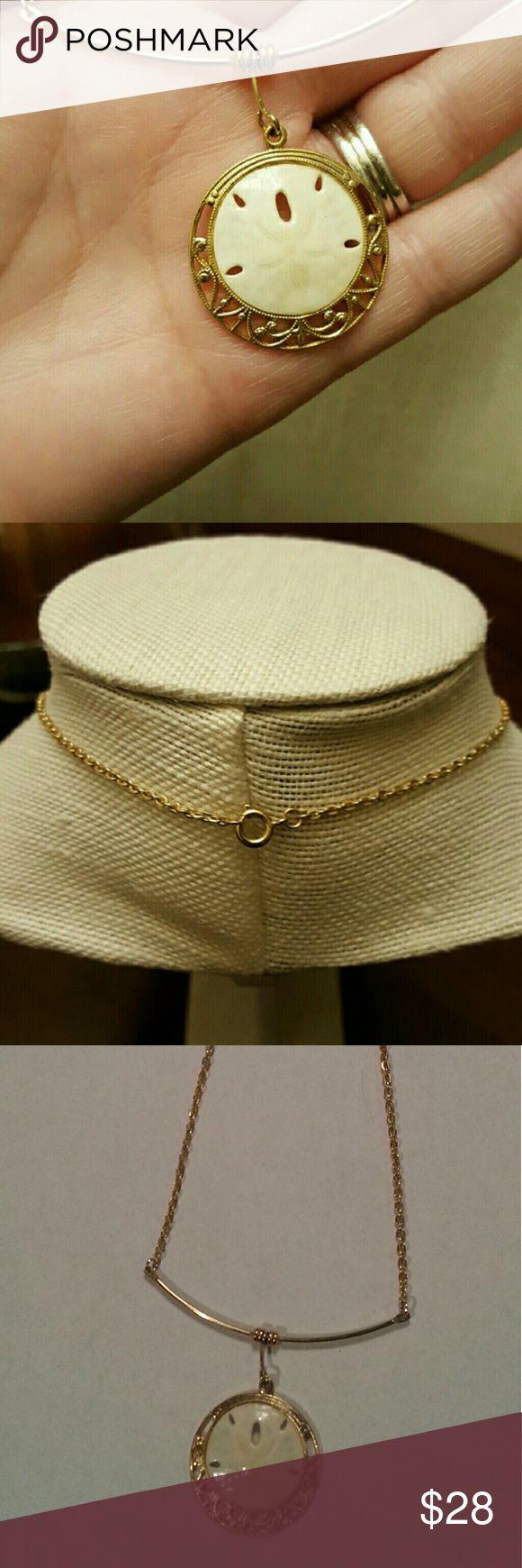 """Sand Dollar Necklace 16"""" sand dollar necklace Jewelry Necklaces"""