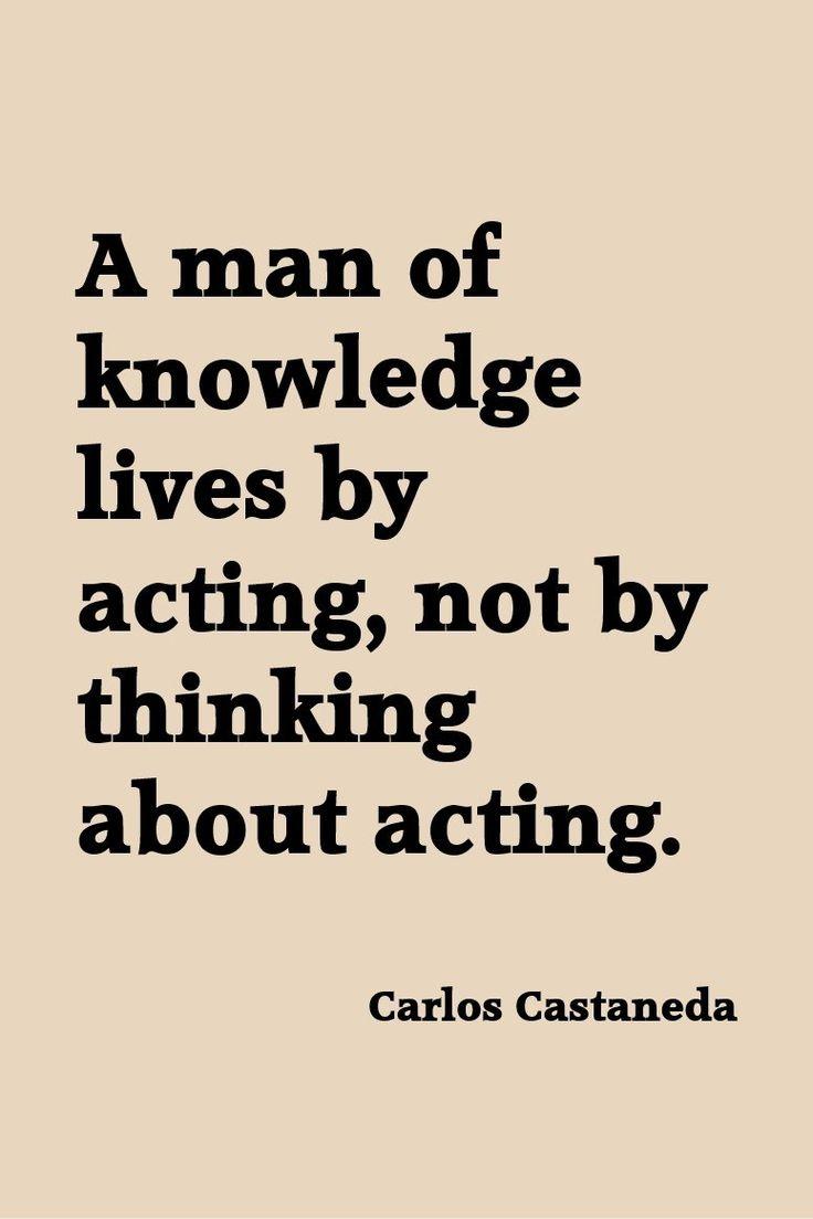 Carlos Castaneda contra la filosofia, la reflexibidad y el intelectualoide - pregunta:¿esta frase estaría en contra de la escritura?