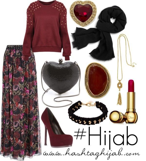 Hijab Fashion 2016/2017: Hashtag Hijab Outfit X follow me X