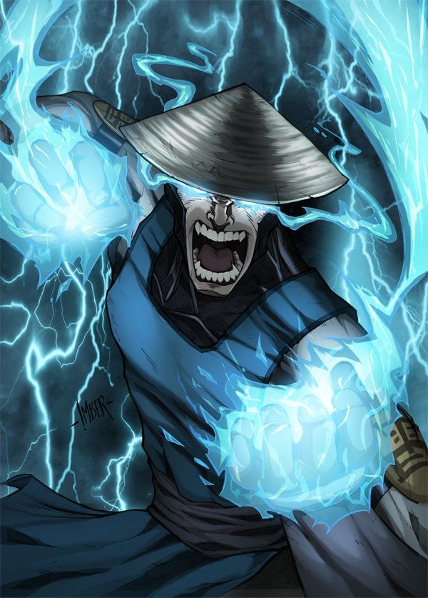 Raiden (Mortal Kombat) by RecklessHero on deviantART