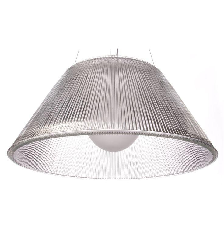 The Matt Blatt Replica Philippe Starck Romeo Moon S2 Suspension Lamp by Philippe Starck - Matt Blatt
