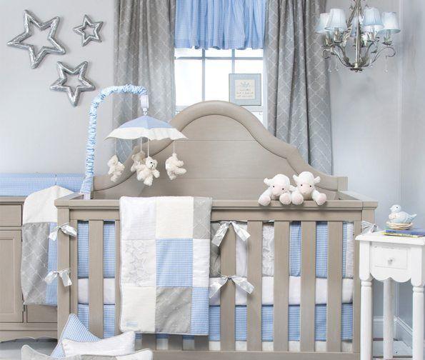 28 best BABY BEDDING Grey & Blue images on Pinterest