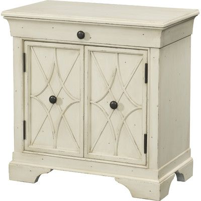 Trisha Yearwood Home Collection Delilah 1 Drawer and 2 Door Cabinet & Reviews | Wayfair