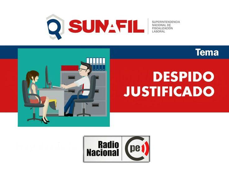 Causas del despido justificado - Sunafil