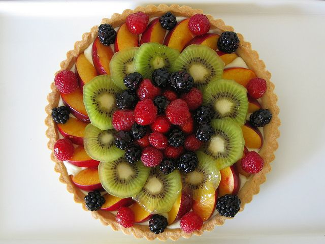 fresh fruit tart with vanilla bean pastry cream | a fully cooked ...