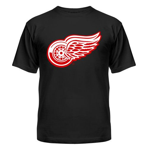 Мужская футболка Detroit Red Wings Магазин футболок