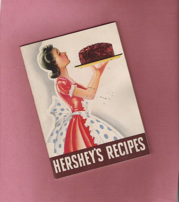 Vintage 1940 Hershey's Recipes Cookbook