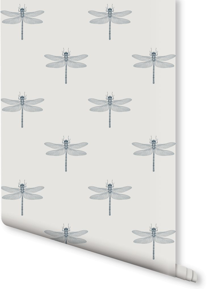 Add an air of sophistication to your home with this Dragonfly pattern wallpaper design. Intricate dragonfly illustrations are set against a light, subtle beige colour, creating a stylishly fascinating design. Perfect for halls or a traditional style living room.