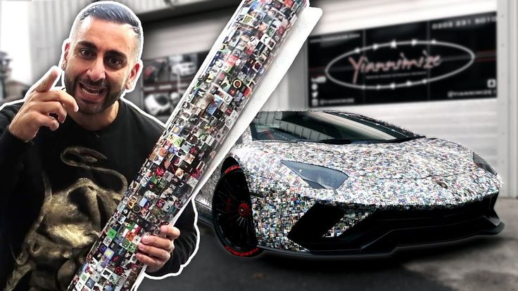 Yiannimize Aventador one million subscriber wrap - http://bit.ly/2AONfjD