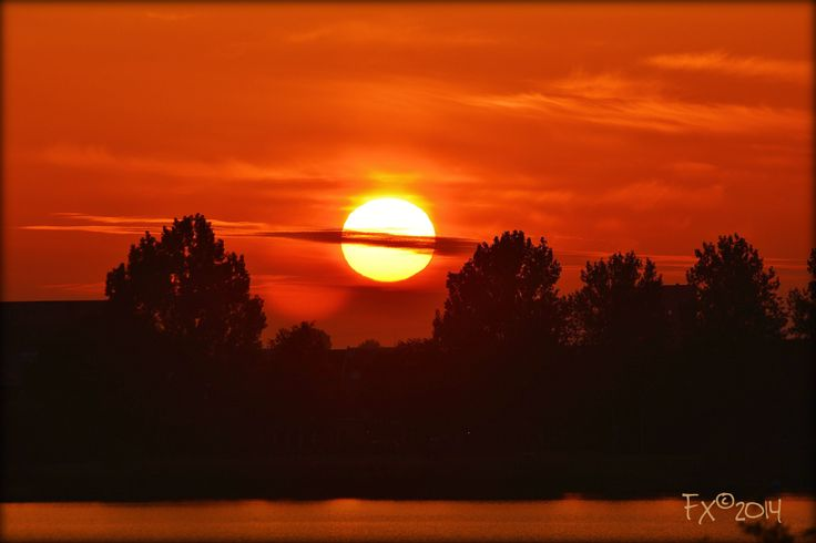 Toolenburg Plas Hoofddorp NL sunset