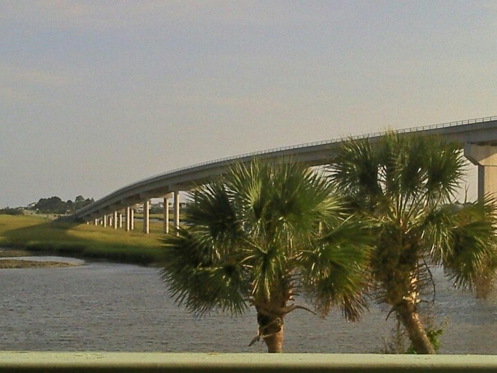 The bridge at Sunset Beach, NC, beautiful!