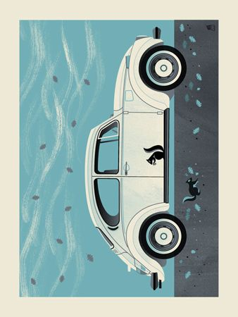 WINTER BEETLE -12 X 16 | Limited Edition Art Posters Archives | Page 3 of 9 | Methane Studios