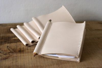DIY Sewing Inspiration - I love these little books with a spot for a pencil
