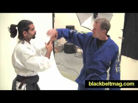 Guillermo gomez shows Aikido