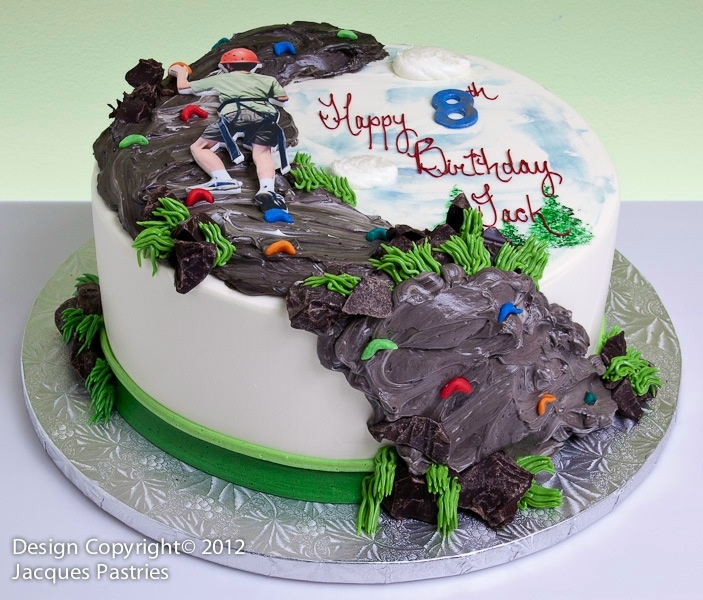 rock climbing cake Adventure Cakes Pinterest Rock ...