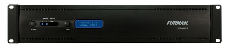 Furman F1000-UPS Rack Mount Battery Backup Power Supply