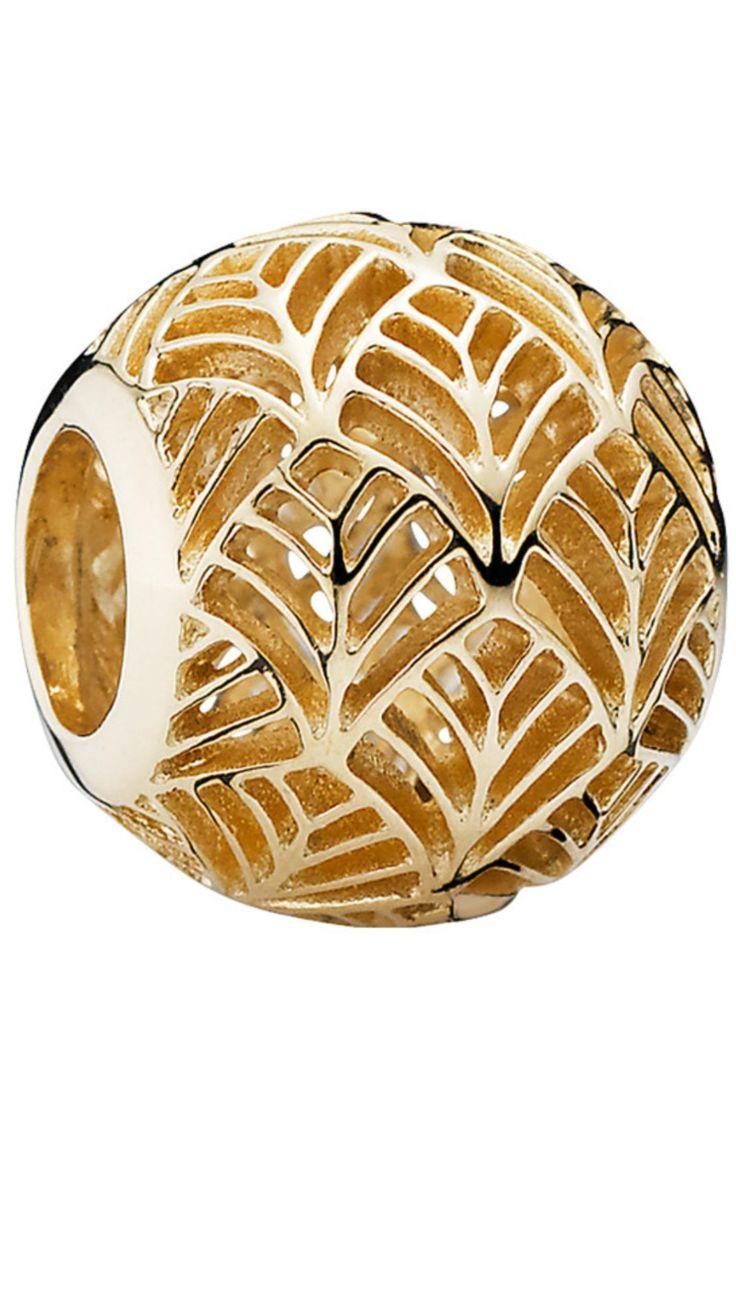 Pandora bracelet dillards - Gold Tropicana Charm 14k 750834 Pandora Braceletspandora