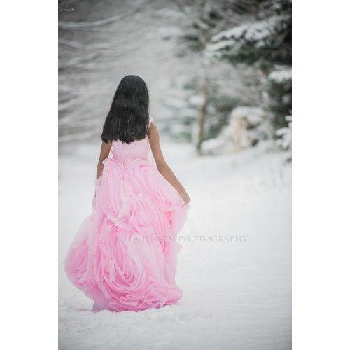 """""""Vinter prinsessen Dina"""" en glitrende skønhed i snelandskabet"""
