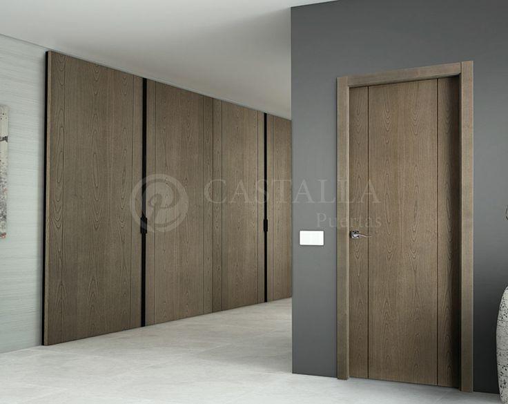 17 mejores ideas sobre puertas de entrada dobles en - Puertas dobles de interior ...