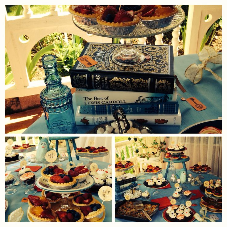 How the Alice in Wonderland baby shower that @Melissa Estes & I threw turned out! :)
