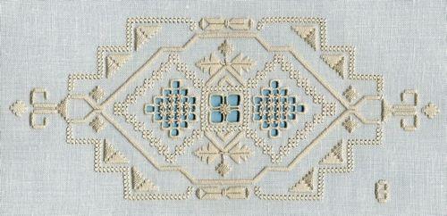 Italian needlework.  Absolutely beautiful!
