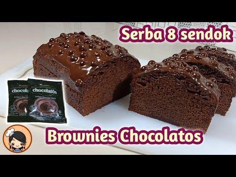 Resep Brownies Chocolatos Serba 8 Sendok Super Lembut Versi Ekonomis Youtube Di 2020 Resep Kue Kue Sendok